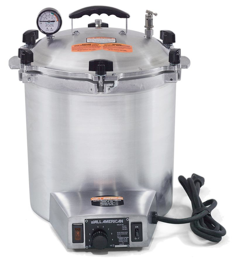 All American 50X Electric Steam Stereoclave