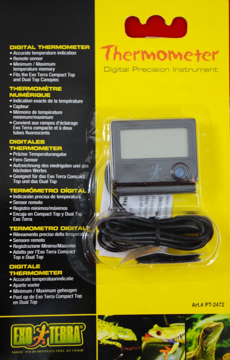 EXO-TERRA Digital Thermometer