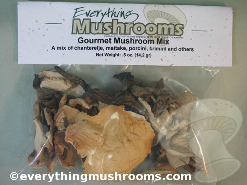 Mushroom Mix, Dried Wild Mushrooms - .5oz pack